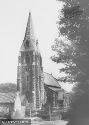 St Mary And St Gabriel Church c.1960, Binbrook