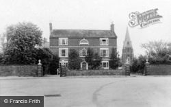 The Church And Manor House c.1955, Binbrook