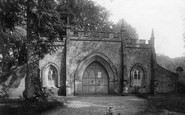 Bindon Abbey, The Gateway 1894