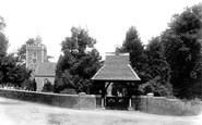 Binfield, All Saints Church And Lychgate 1901