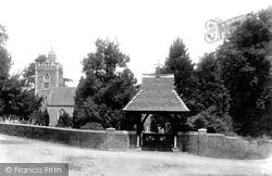All Saints Church And Lychgate 1901, Binfield