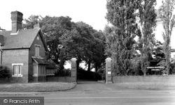Lodge Gates, Newbold Missionary College c.1955, Binfield