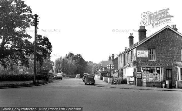Binfield, Terrace Road c.1955