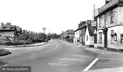 Nottingham Road From Long Acre c.1955, Bingham