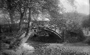 Bingley, Beck Foot Bridge 1894