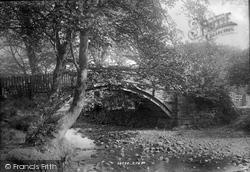 Bingley, Beck Footbridge 1894