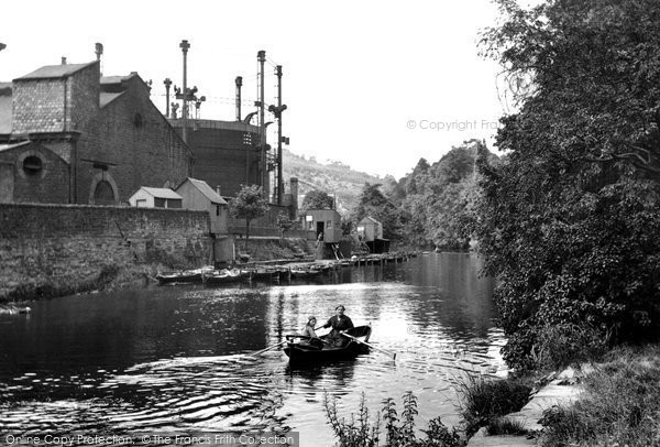Photo of Bingley, Boating on the Aire 1923