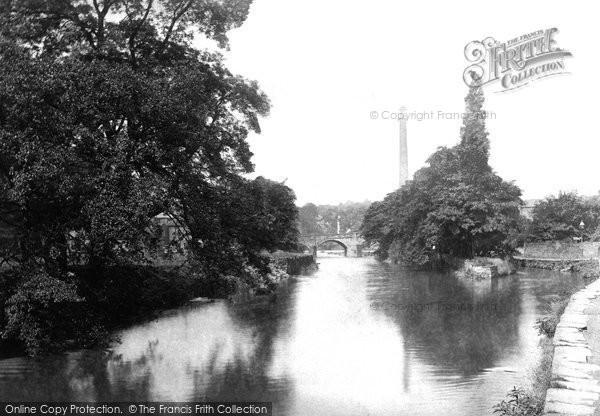 Bingley, Bridge And River 1893