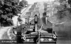 Five Rise Locks, Leeds And Liverpool Canal c.1900, Bingley