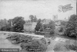 Bingley, From The Bridge 1893