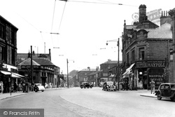 Bingley, Main Street c.1955