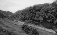 Bingley, River Aire 1923
