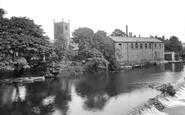Bingley, River Aire And Bridge 1923