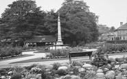 Bingley, Rock Gardens War Memorial 1926