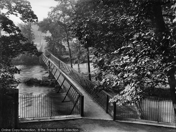Bingley, The Iron Bridge 1926