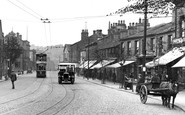 Bingley, Traffic In Main Street 1926