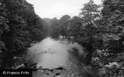 Bingley, View From Cottingley Bridge 1923