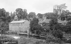 Bingley, Weir And Church 1923