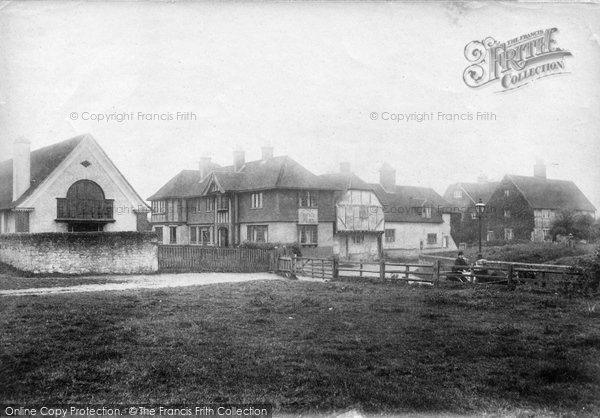 Photo of Binsted, The Village 1907