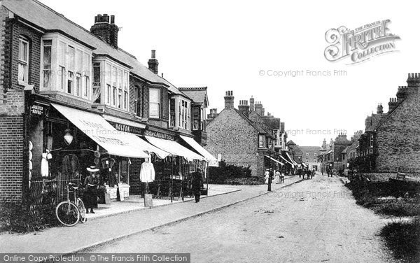 Birchington, Station Road c1900