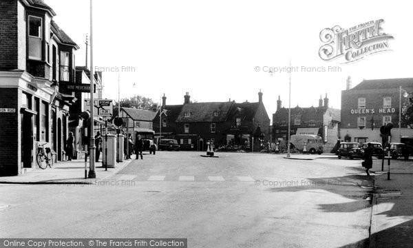 Birchington, Station Road c.1955