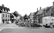 Birchington, the Square c1955