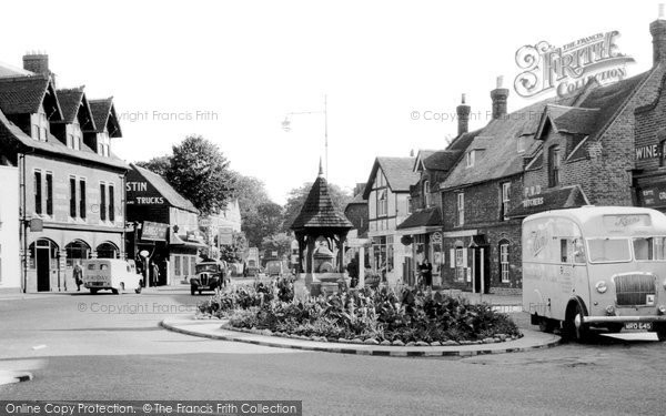 Photo of Birchington, the Square c1955