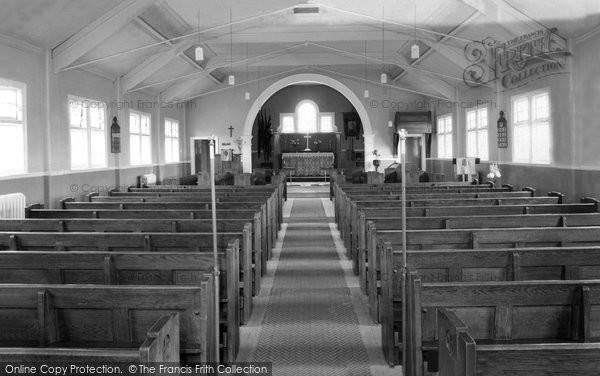 Bircotes, Christ Church interior c1955
