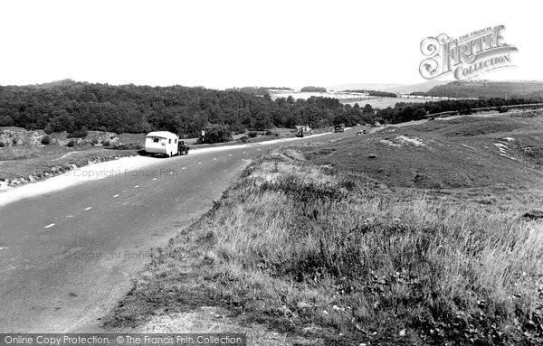 Birdlip, Birdlip Hill c.1955
