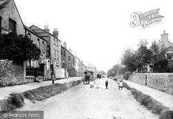 Birdlip, The Village 1907