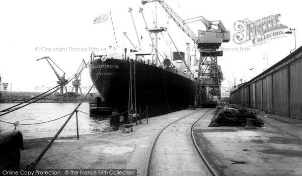 Photo of Birkenhead, Docks c1965