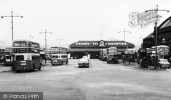 Birkenhead, Ferry And Bus Terminus 1964