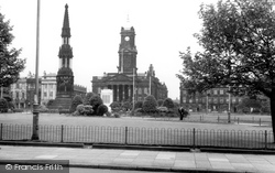 Birkenhead, Hamilton Square And City Hall c.1965
