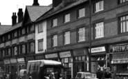 Birkenhead, Shops On Woodchurch Road, Prenton 1954