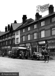 Birkenhead, Shops On Woodchurch Road, Prenton 1954