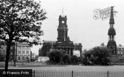 Birkenhead, Town Hall c.1965