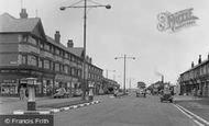 Birkenhead, Woodchurch Road, Prenton 1954