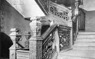 Birmingham, Aston Hall, Grand Staircase c.1900