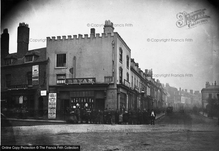 Birmingham, Bryan's Pastry Shop, Congreve Street 1867