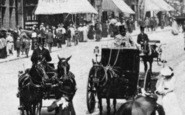 Birmingham, Carriages In Corporation Street 1899