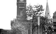 Birmingham, Chamberlain Place And Museum c.1955