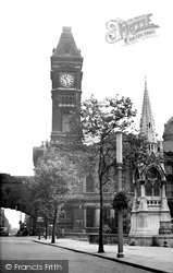 Chamberlain Place And Museum c.1955, Birmingham