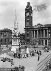 Chamberlain Square c.1960, Birmingham