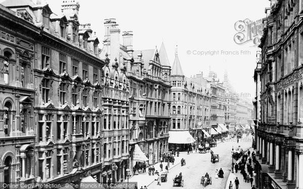 Birmingham, Corporation Street 1896