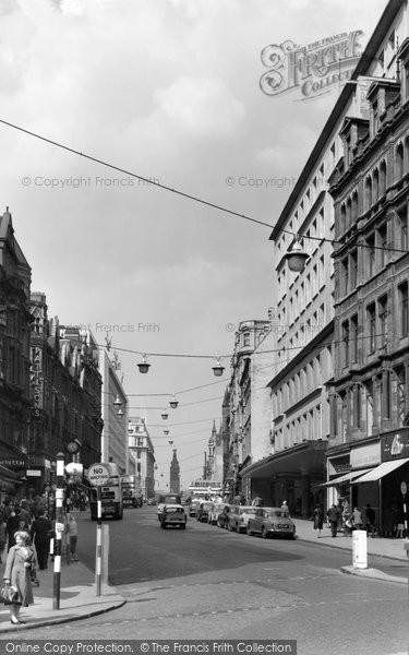 Birmingham, Corporation Street c.1960