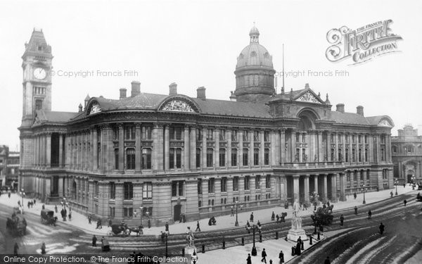 Birmingham, Council House And Art Gallery And Museum 1896