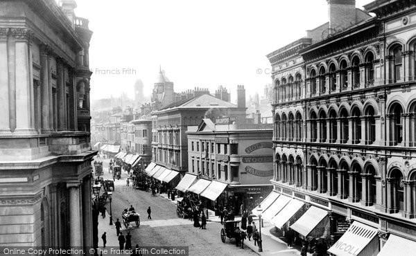 Birmingham, New Street 1896