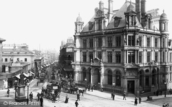 New Street And The Post Office 1896, Birmingham
