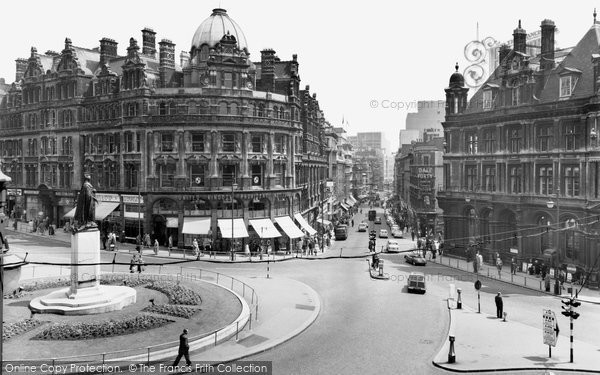 Photo of Birmingham, New Street c.1960