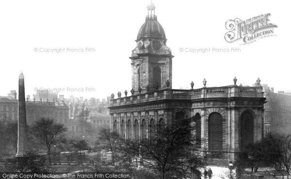 Birmingham, St Philip's Church 1896